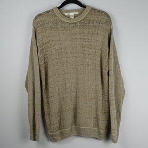 Perry Ellis Acrylic-Rayon Blend Sweater sz L